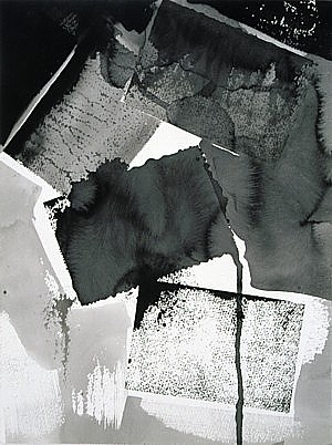 Untitled (LD5), ink on watercolor paper, 16 x 12 in., 2002