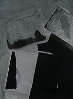 Untitled (LD5), ink and pencil on watercolor paper, 16 x 12 in., 2002
